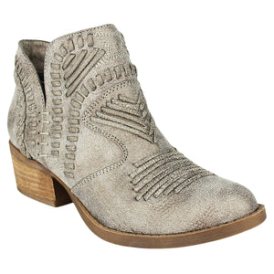 Not Rated Nosara Ankle Bootie in Grey