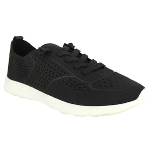Not Rated Mana Sneakers in Black