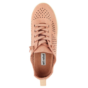Not Rated Mana Sneakers in Salmon Pink - tempting-teal-boutique