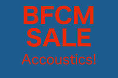 BFCM Sale - Acoustic Guitars