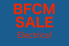 BFCM Sale - Electric Guitars