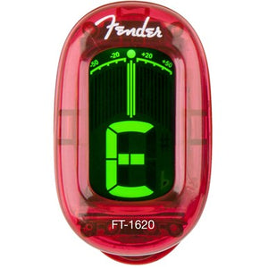 Fender Clip-on Tuner California Series - Candy Apple Red - Jakes Main Street Music