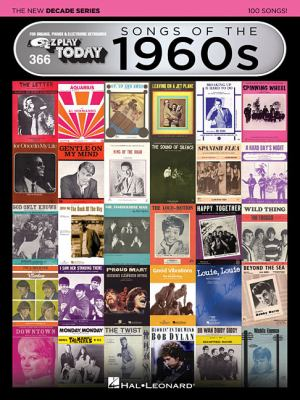 Songs Of The 1960s - Hal Leonard The New Decade Series