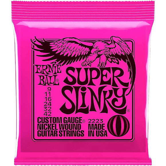 Ernie Ball 2223 Super Slinky Electric Guitar Strings - Jakes Main Street Music
