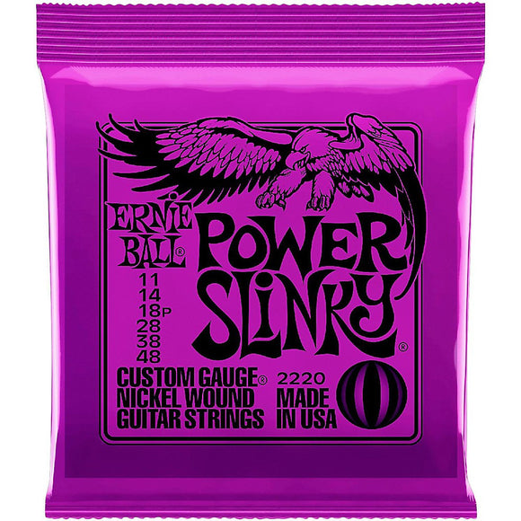 Ernie Ball 2220 Power Slinky Electric Guitar Strings - Jakes Main Street Music