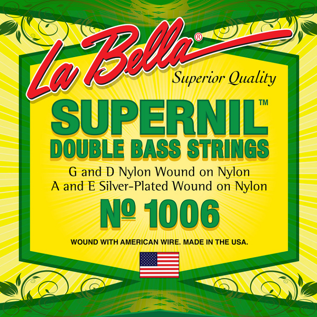 Labella No. 1006 SuperNil Acoustic Bass String - Jakes Main Street Music