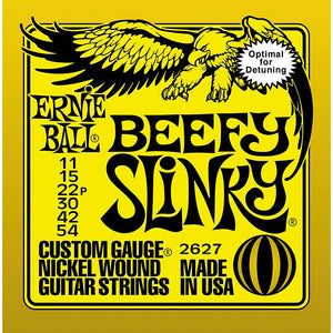 Ernie Ball 2627 Nickel Beefy Slinky Electric Guitar Strings - Jakes Main Street Music