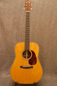 Huss and Dalton TD-R custom w/ Torrified Spruce top (#4708) - Jakes Main Street Music