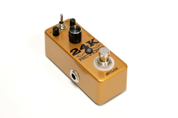 Outlaw 24K Reverb Pedal - Jakes Main Street Music
