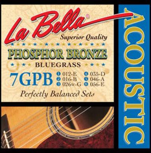 "LaBella 7GPB Phosphor/Bronze ""Bluegrass"" Guitar Strings - Jakes Main Street Music"