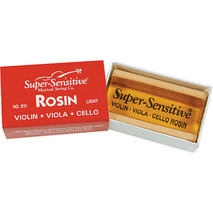 Super Sensitive Violin Rosin No. 911 - Light - Jakes Main Street Music
