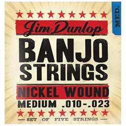 Dunlop DJN1023 Nickel Medium Banjo Strings - Jakes Main Street Music