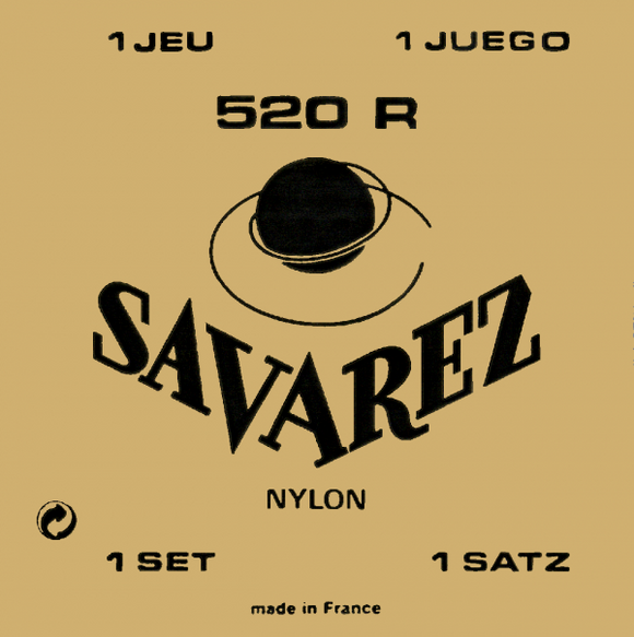 Savarez 520 R Normal Tension Classical Guitar Strings - Jakes Main Street Music