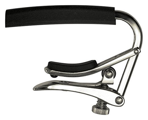Shubb C3 - 12-String Guitar Capo - Polished Nickel - Jakes Main Street Music