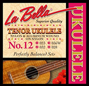 LaBella No. 12 Nylon Tenor Ukulele Strings - Jakes Main Street Music