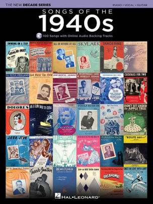 Songs Of The 1940s - Hal Leonard The New Decade Series