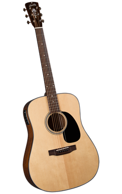 Blueridge BR-40E Contemporary Series Dreadnaught w/pickup - Jakes Main Street Music
