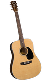Blueridge BR-60E Contemporary Series Dreadnaught w/pickup - Jakes Main Street Music