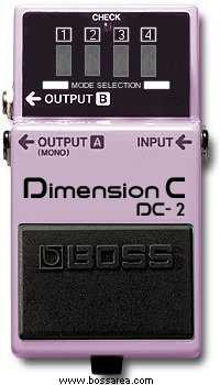 Vintage Boss DC-2 Dimension C Effects Pedal - Jakes Main Street Music