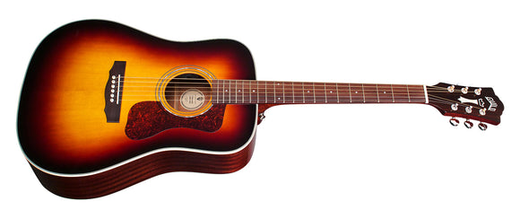 Guild D-140E Sunburst Acoustic/Electric Guitar - Jakes Main Street Music