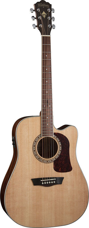 Washburn Heritage Series HD10SCE Cutaway Dreadnaught Guitar - Jakes Main Street Music