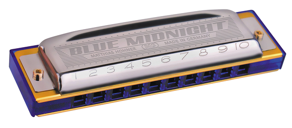 Hohner Blue Midnight MS Harmonica - Jakes Main Street Music