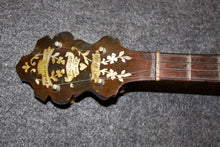 "Load image into Gallery viewer, Paramount ""Tenor Harp"" Wooden Top Tenor Banjo c. 1925 - Jakes Main Street Music"