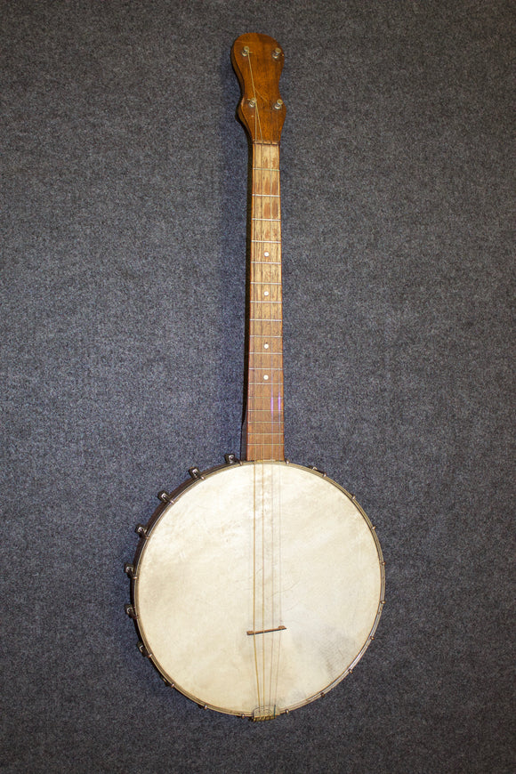 No Name Vintage Tenor Banjo c. 1920 - Jakes Main Street Music