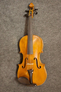 "German ""Conservatory"" violin c. Stradiuarius Anno 1736 style 4/4 ( Stock #3510) - Jakes Main Street Music"