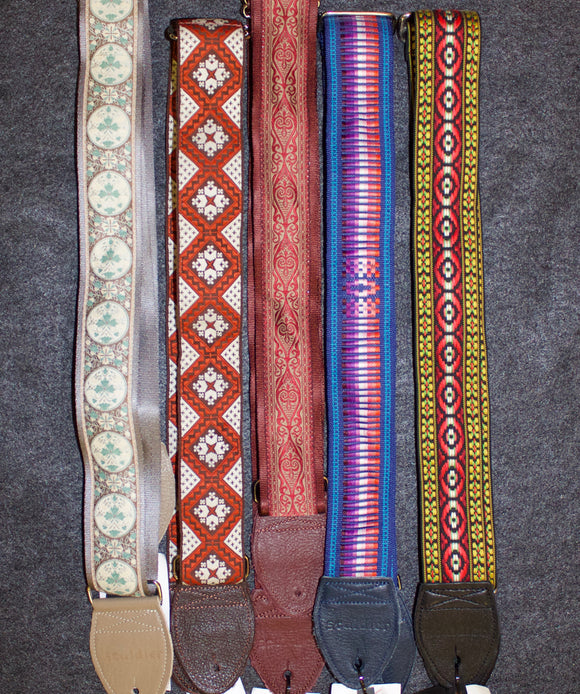 Souldier Guitar Strap - Cloth on Seatbelt style - Jakes Main Street Music