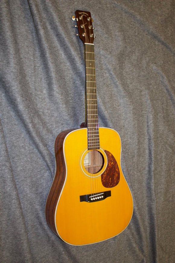 Sigma DR-28H Herringbone/Dreadnaught Guitar c. 1990s - Jakes Main Street Music