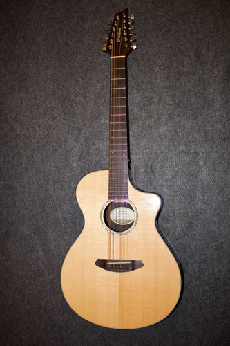Breedlove Solo 12 Twelve-String All Solid Guitar (2017) - Jakes Main Street Music