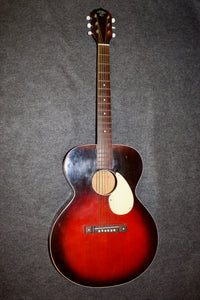 Kay K-15 Flat-top Folk Guitar c. 1948 Red-burst - Jakes Main Street Music
