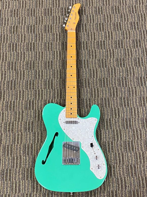 Fernandes Thin-line Telecaster - Teal Green c. 1990