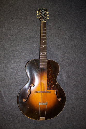 Washburn Model 5242 Archtop Guitar (c. 1930s) - Jakes Main Street Music