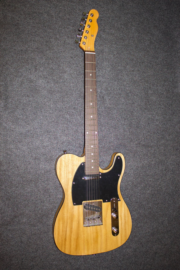 Telecaster-style Swampwood Guitar - home-made from parts - very cool! - Jakes Main Street Music
