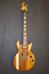 Hand-made/assembled Parquet Electric Guitar - Jakes Main Street Music