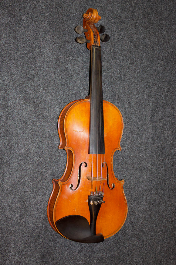 Karl Meisen Vintage 3/4 Violin - Mittenwald -  w/case and bow - Jakes Main Street Music