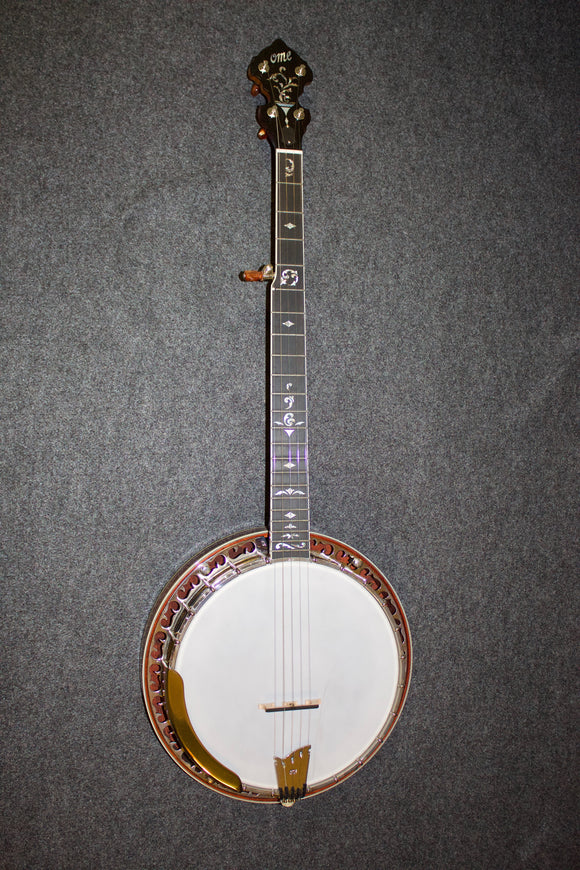 Ome Professional Sweetgrass Resonator Banjo - New No. 6839 - Jakes Main Street Music