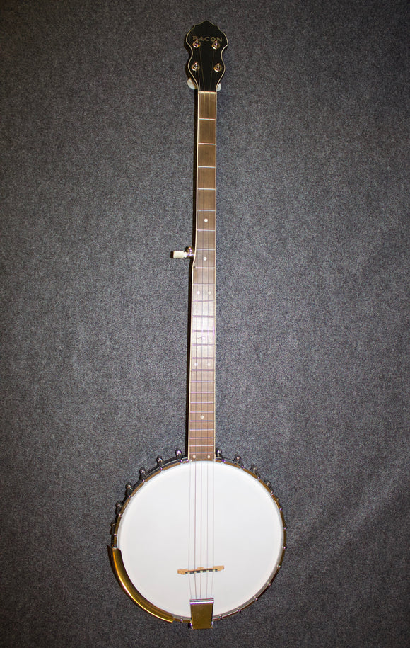 Bacon Long-neck Banjo c.19