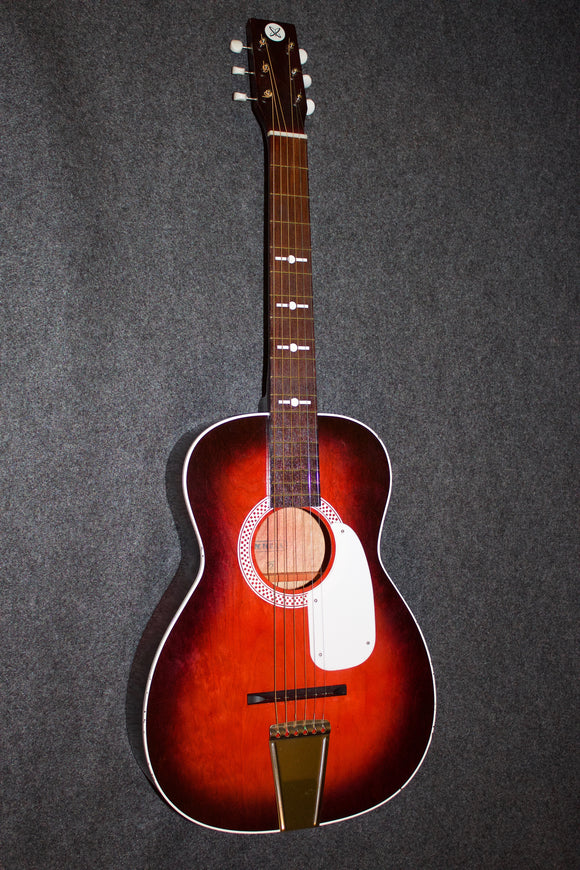 SR (Sears and Roebuck) parlor guitar c. 1970