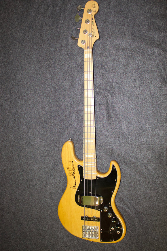 Fender Marcus Miller signed Jazz Bass