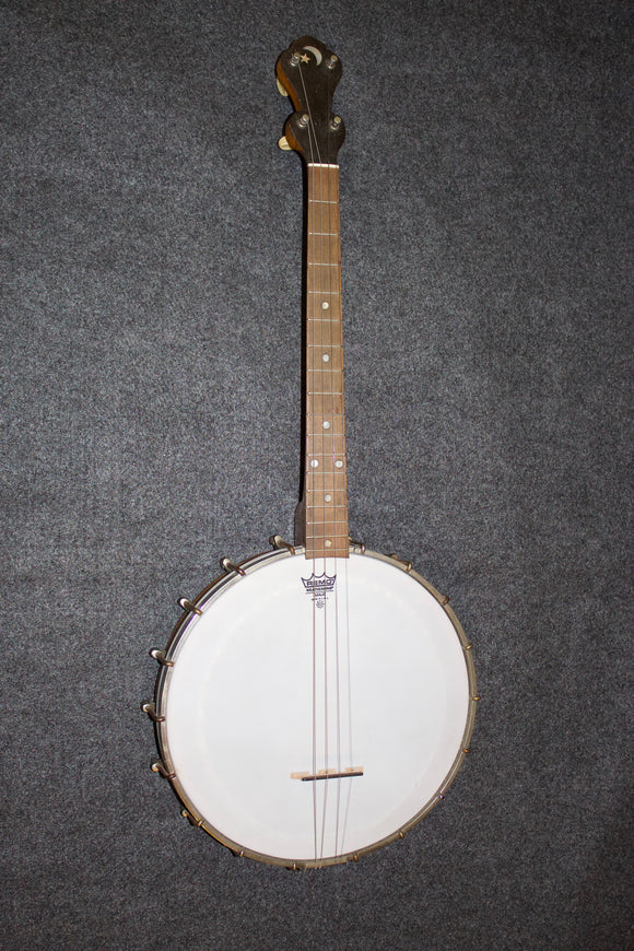 Bird's-eye Maple Pot Tenor Banjo c. 1926