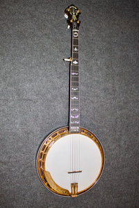 Crafters of Tennessee Golden Classic Resonator Banjo