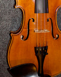 Collegiate Standard 4/4 Violin restored by R.J. Storm c. 1960