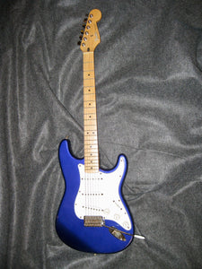 Fender Midnight Blue Stratocaster 1999 (Made in Mexico)