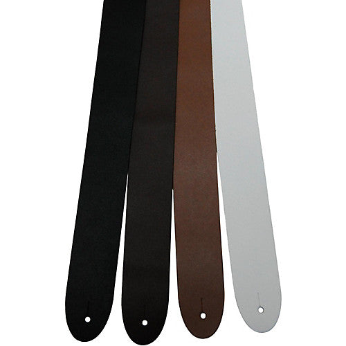 Basic Leather Guitar Strap - Jakes Main Street Music