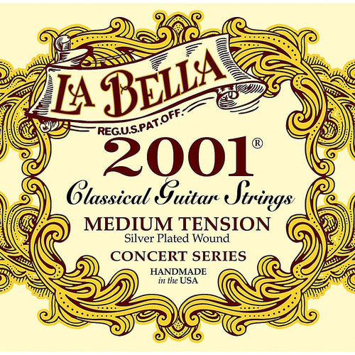 LaBella 2001 Concert Series Classical Guitar Strings - Jakes Main Street Music
