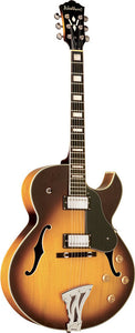 Washburn J3TSK Hollowbody Jazz Guitar w/ Case - New