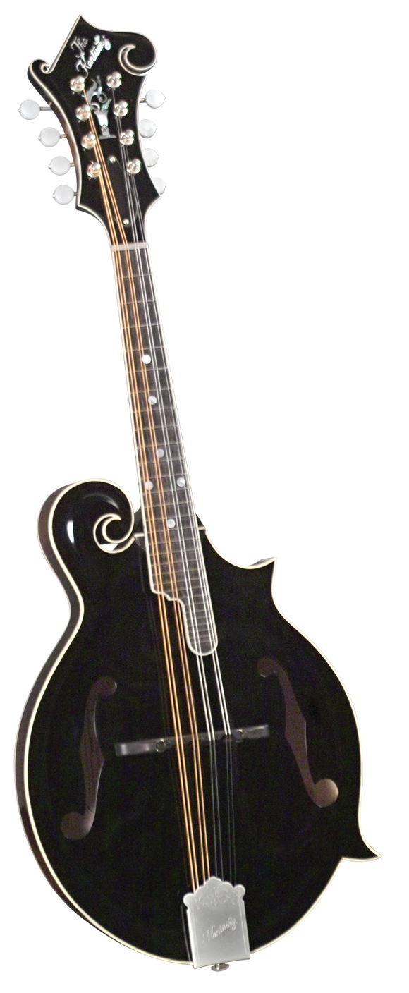 Kentucky KM-1000B Master F-model Mandolin - Black Top - Jakes Main Street Music